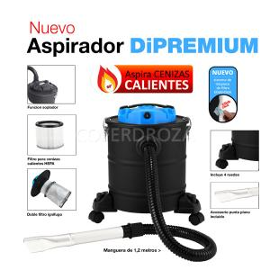 ASPIRADOR CENIZA CALIENTE 20LT FAR TOOLS DIPREMIUM